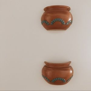 Vintage Accents - Burwood Southwestern Wall Planters